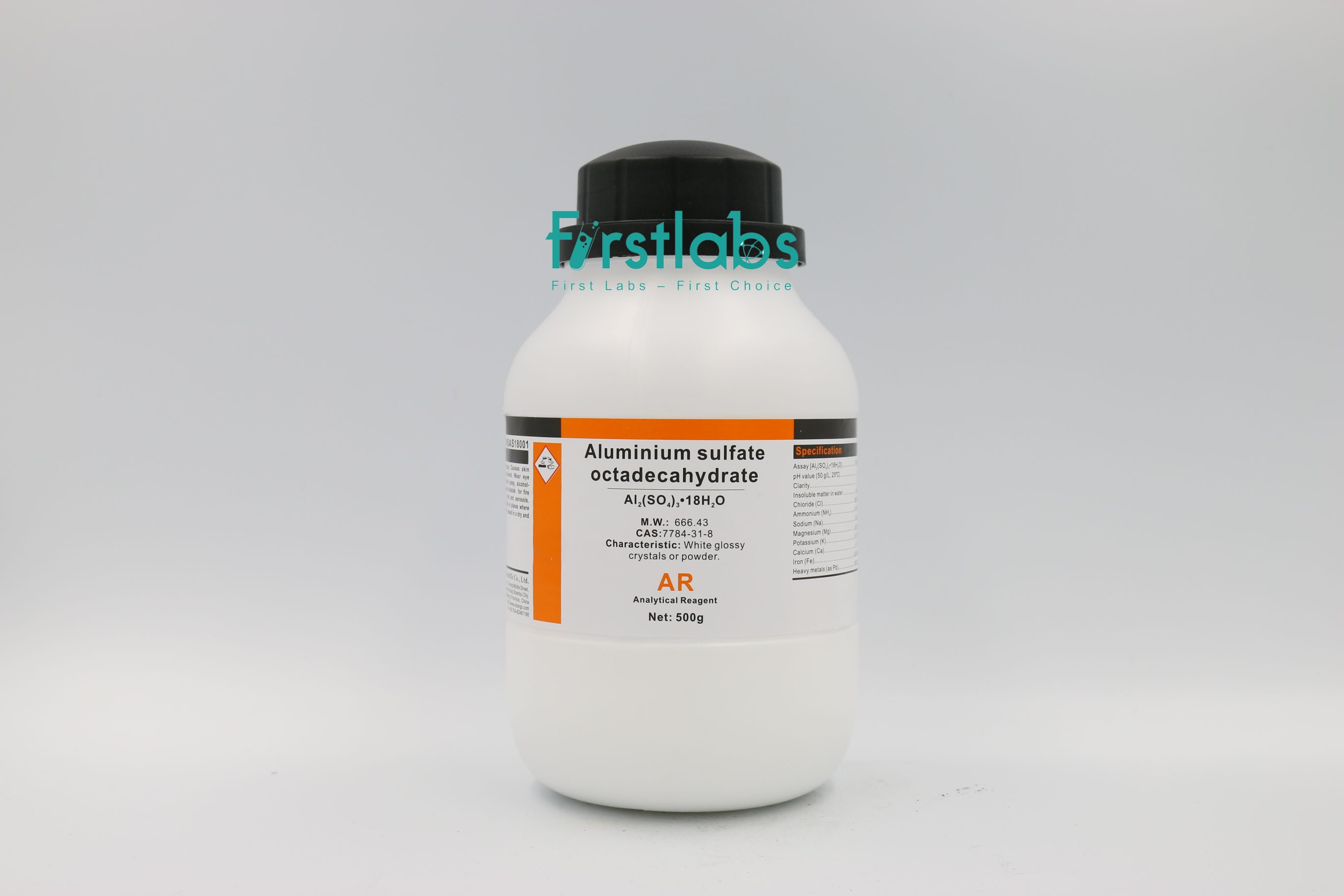 Aluminium sulfate octadecahydrate